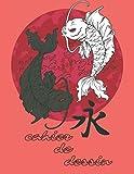 Cahier de dessin Japon: page blanche, grand format, Univers Manga, Japon.