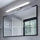Yafido Lampe pour Miroir LED Applique Salle de Bain 9W Blanc Froid 6000K...