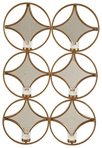Ashley Furniture Signature Design - Emilia Wall Sconce - Contemporary - Gold Finish