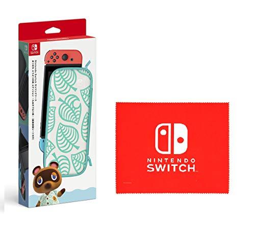 Nintendo Switchキャリングケース あつまれ どうぶつの森エディション ~たぬきアロハ柄~(画面保護シート付...