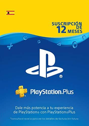 Sony, PlayStation Plus - Suscripción 12 Meses | PS5/PS4/PS3 |...