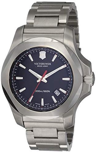 Victorinox Swiss Army Herren Analog Quarz Uhr mit Edelstahl Armband 241723.1