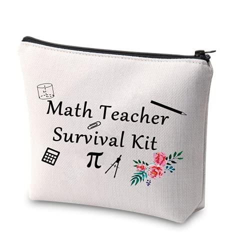 XYANFA Math Teacher Survival Kit Makeup Bag Math Teacher...