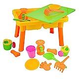 deAO Table pour Jeux avec Sable et Eau Activité des Enfants à l'Étranger...