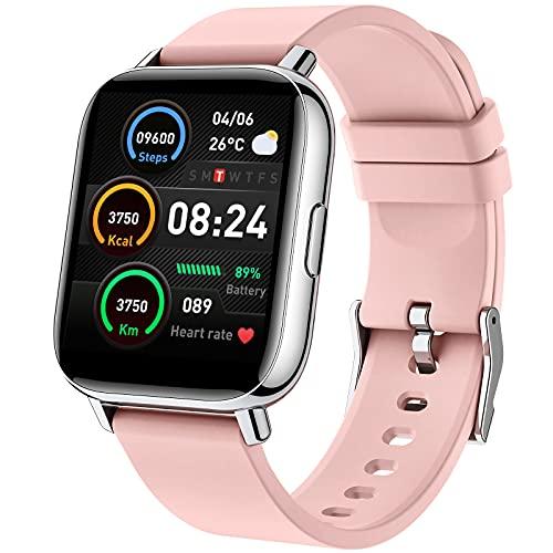 iporachx Smartwatch, Relojes Inteligentes Mujer PantallaTFT de...