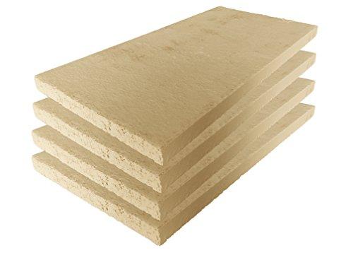 Lastra in argilla refrattaria, per forno, alta qualit, 400 x 200 x 20 mm