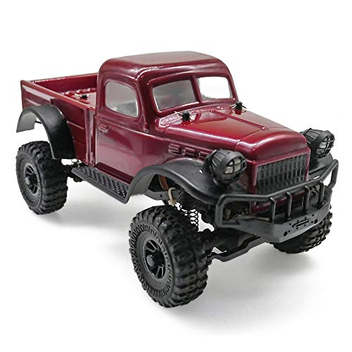 Panda Hobby Sport Tetra K1 1/18 RTR Scale 4x4 Rock Crawler 4wd Off-Road Vehicle