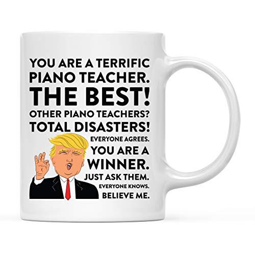 Andaz Press 11oz. Funny President Trump Coffee Mug Gag Gift,...
