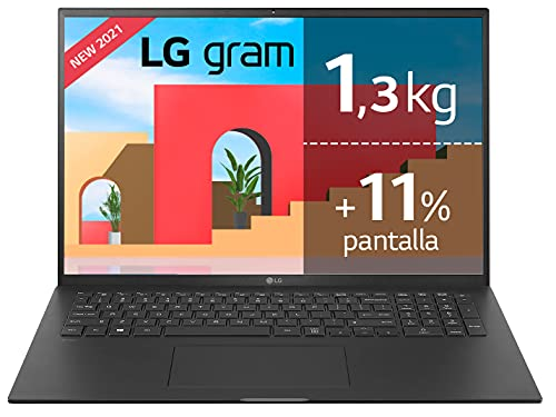 LG gram 17Z90P Windows 10 Home, Ultraligero de 43.2 cm (17')...