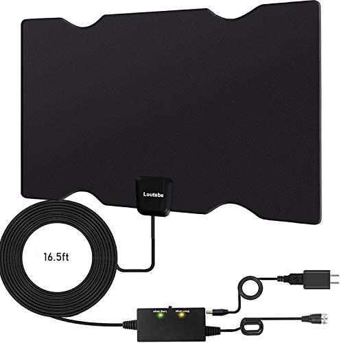 Loutsbe Amplified Indoor HD Digital TV Antenna, Long 180 Miles...