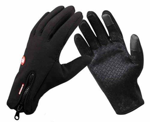 iPhone5 など スマホ 対応手袋 保温通気 バイク 、自転車 、登山 、カメラ撮影用スマホ スマートフォン タッチパネル対応手袋 グローブ