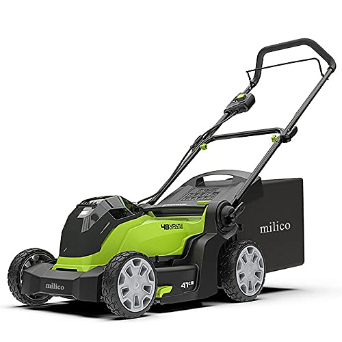milico Lawn Mowers,Brushless Self-Propelled Lawn...