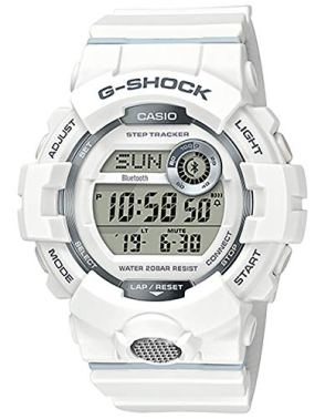 G-Shock GBD-800-7CR White One Size