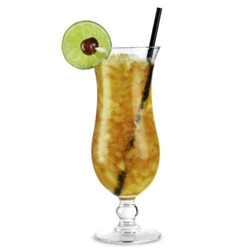 6X BICCHIERI DA COCKTAIL HURRICANE Long Drink Bicchieri in acrilico 420ML splitterfrei, infrangibile e lavabile in lavastoviglie
