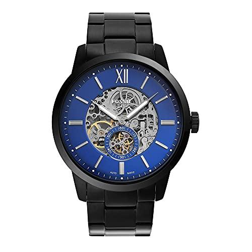 Fossil Townsman Analog Blue Dial Men's Watch-ME3182