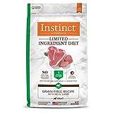 Instinct Limited Ingredient Dog Food, Limited Ingredient Diet Real Lamb Recipe Natural Grain Free Dry Dog Food, 20 lb. Bag