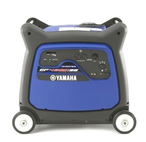 Yamaha EF4500iSE, 4000 Running Watts/4500 Starting Watts, Gas Powered Portable Inverter