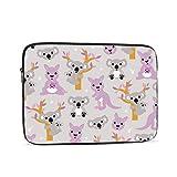 Funda para ordenador portátil de 13 pulgadas de Australian Kangaroos Koala Bear Mom Baby Laptop Manga/portátil de bolsillo de la computadora Casa/tableta Maletín de transporte de la bolsa