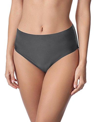 Merry Style Damen Bikini Unterteil M72W (Graphite (9154), 42)