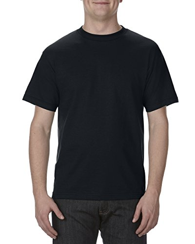Alstyle Apparel AAA Men's Classic T-Shirt, Black, XL