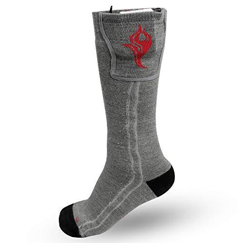Heated Wool Socks
