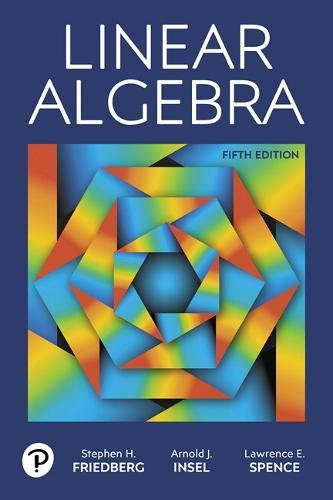 Linear Algebra (5th Edition)