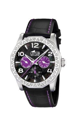 Lotus Damen-Uhren Quarz mit Lederband 15684/4