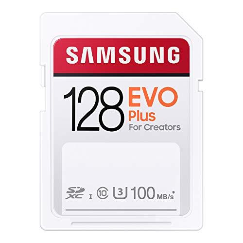 Samsung EVO Plus SDカード 128GB SDXC UHS-1 U3 100MB/s MB-SC128H/EC 国内正規保証品