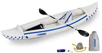 Sea Eagle SE370 Inflatable Sport Kayak Fishing Package