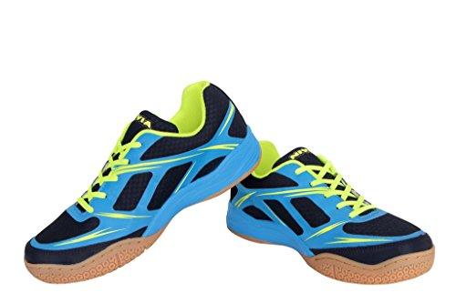 Nivia 39210 Super Court Badminton Shoes 10UK 44EU (Navy Blue)