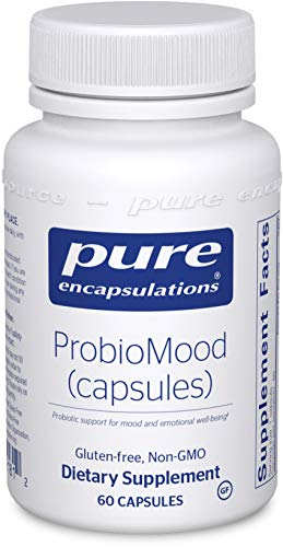 Pure Encapsulations - ProbioMood - Probiotic Combination Designed to Support Emotional Well-Being - 60 Capsules