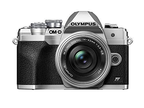 OLYMPUS OM-D E-M10 Mark IV シルバーボディ シルバー M.Zuiko デジタル ED 14-42mm F3.5-5.6 EZレンズキット