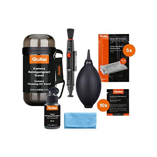 Rollei Camera Cleaning Kit Travel - Kit de nettoyage d'appareil photo...