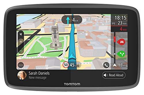TomTom Navigationsgerät GO 6200 (6 Zoll, Stauvermeidung dank TomTom Traffic, Karten-Updates Welt,...