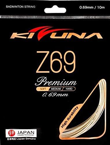 KIZUNA Badminton String Z69P, 0.69 mm