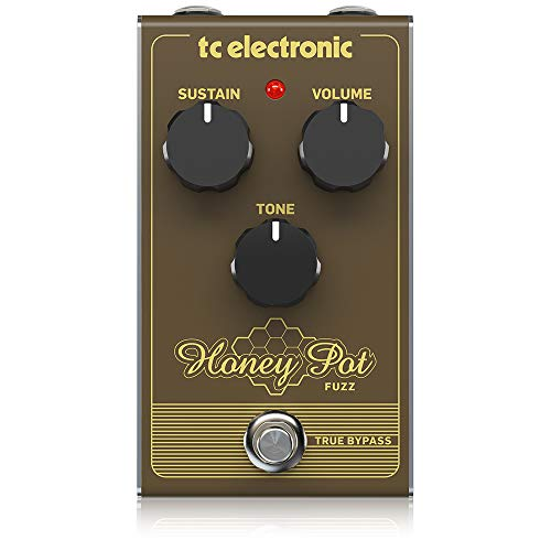 tc electronic 000-CQ700-00010 Honey Pot Fuzz Pedal