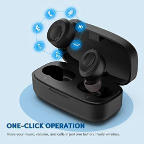 HNTMAO-S15-IPX8-Waterproof-Bluetooth-50-Wireless-Earbuds-30H-Playtime-TWS-Stereo-Bluetooth-Wireless-Headphones-for-iPhone-Android-with-Charging-Case-in-Ear-Earphones-Headset-with-mic-for-Sport