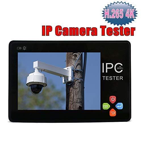 IPC1600 Plus H.265 4K Portatile Polso Telecamera IP Tester 3,5 Pollici Schermo Touch CCTV Tester Monitor CVBS Telecamera di sicurezza Tester Supporto WiFi ONVIF Controllo PTZ