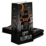 Iconikal Paper Treat Bags, Happy Halloween, 40-Count Set