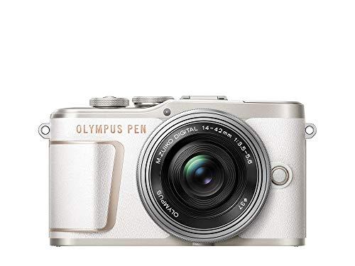 OLYMPUS ミラーレス一眼カメラ PEN E-PL10 14-42mm EZレンズキット ホワイト
