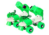 ✔ HIGH-QUALITY ULTRA DURABLE ROLLER SKATES :- Supreme Deals New Style Attractive Roller Skates For Kids : Smooth rolling wheels,High quality material ,start your training with this adjustable quad roller skates for kids. Convenient with two easy-adju...