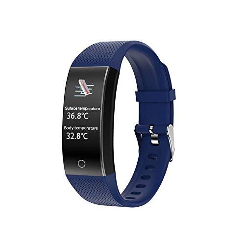 KYLN Braccialetti Intelligenti per Uomo e Donna, Orologi Fitness Impermeabili, sfigmomanometri e...
