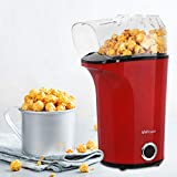 MVPower Machine à Popcorn Electrique 1400W, Popcorn Popper Antiadhésif,...