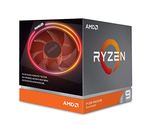 AMD Ryzen 9 3900X with Wraith Prism cooler 3.8GHz 12コア / 24スレッド 70MB 105W【国内正規代理店品】