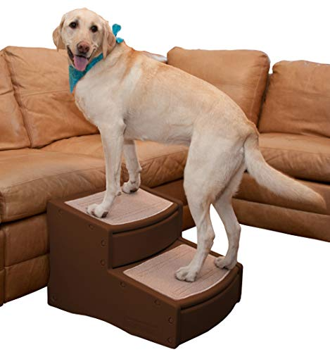 Pet Gear Easy Step II Extra Wide Pet Stairs,...