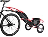Sepnine Bike Commuter Cargo Shopping Trailer Similar Like 8007T Folding Cargo Bike Trailer Multi-Funcion Trailer 8009T Red Color