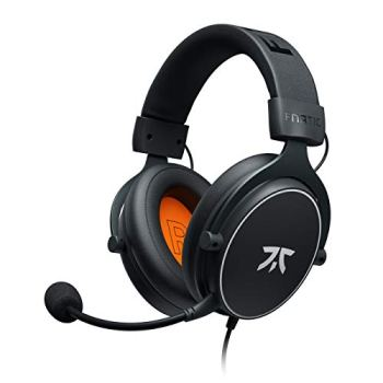 Casque gaming Fnatic REACT pour PS4/PC avec pilotes de 53mm, son stéréo, commande intégrée, des couissons Over-Ear à mémoire de forme. Compatible avec XBOX/Mobile/Switch/Wii U/Mac [playstation_4]