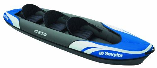 Sevylor Kayak Gonflable Hudson, Canoë Canadien 2+1...