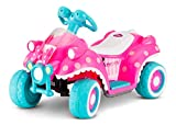 Kid Trax Ride-On Quad, Battery-Powered Toy, 6V, Disney Minnie Mouse Pink