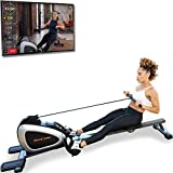 FITNESS REALITY 1000 PLUS Bluetooth Magnetic Rowing Rower with...